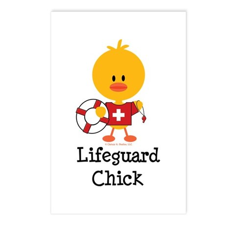 Lifeguard Chick Postcards (Package of 8)