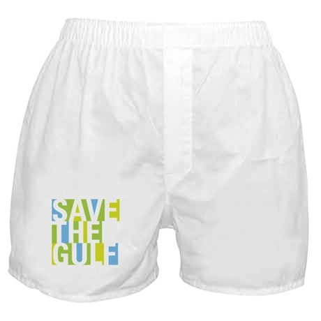 Oil Spill: Save The Gulf Boxer Shorts