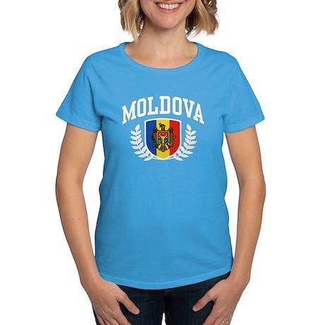 Moldova Women's Dark T-Shirt