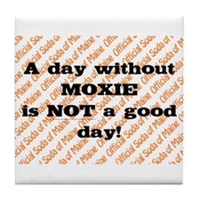 Official soda of Maine: Day without Moxie Tile Coa