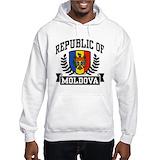 Moldova Hooded Sweatshirt
