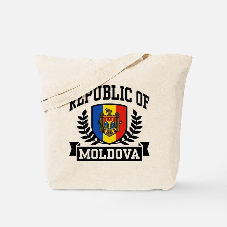Republic of Moldova Tote Bag