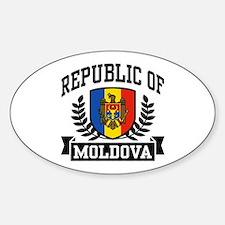 Republic of Moldova Decal