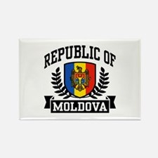 Republic of Moldova Rectangle Magnet