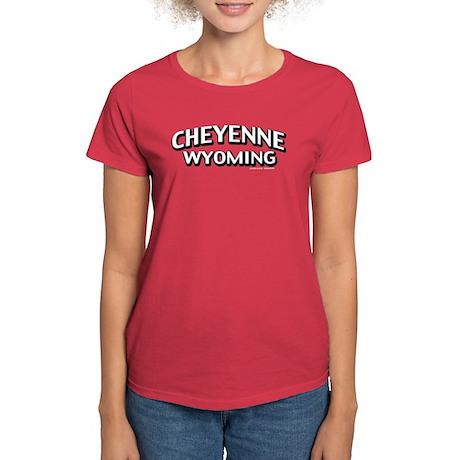 Cheyenne Wyoming Women's Dark T-Shirt