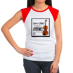 Violin / Fiddle Jam Women's Cap Sleeve T-Shirt