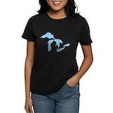 Great lakes Women's Dark T-Shirt