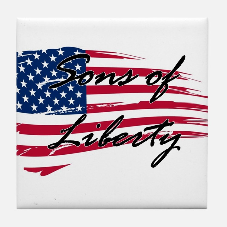 Sons of Liberty Tile Coaster