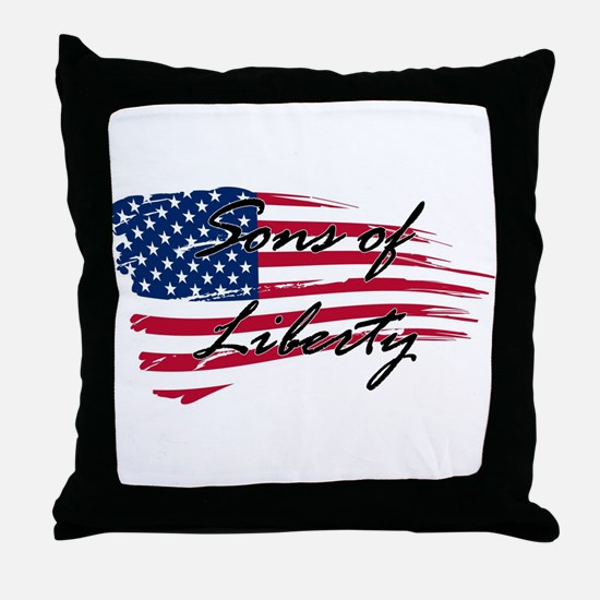 Sons of Liberty Throw Pillow