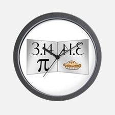 PI 3.14 Reflected as PIE Wall Clock
