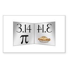PI 3.14 Reflected as PIE Decal