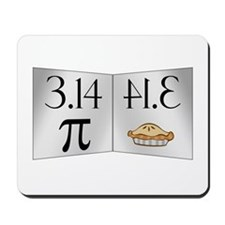 PI 3.14 Reflected as PIE Mousepad