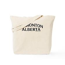 Edmonton Alberta Tote Bag