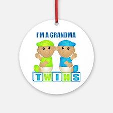 I'm A Grandma (TBB:blk) Ornament (Round)