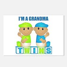 I'm A Grandma (TBB:blk) Postcards (Package of 8)