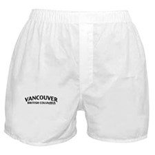 Vancouver British Columbia Boxer Shorts
