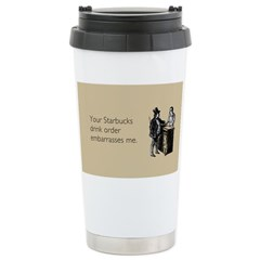 Drink Order Travel Mug