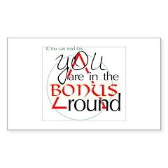 Bonus/AA Promises Decal