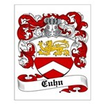Cuhn Coat of Arms Small Poster