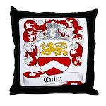 Cuhn Coat of Arms Throw Pillow