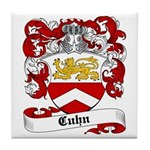 Cuhn Coat of Arms Tile Coaster