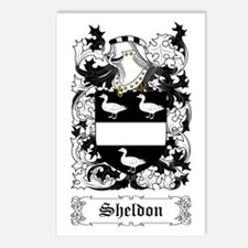 Sheldon Postcards (Package of 8)