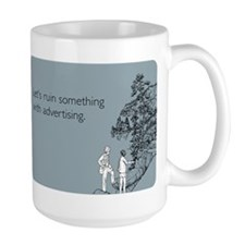 Ruin With Advertising Mug