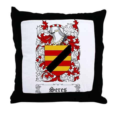 Seres Throw Pillow