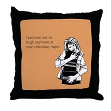 Ridiculous Major Throw Pillow