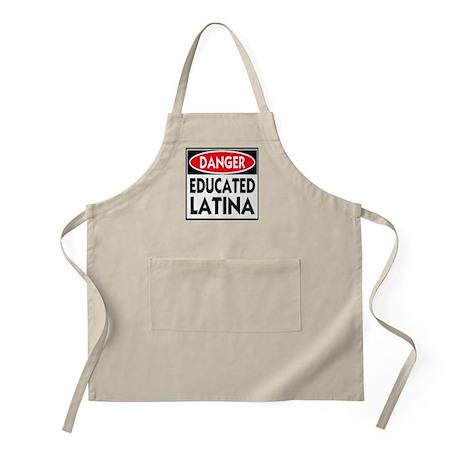 Danger -- Educated LATINA T-Shirt Apron
