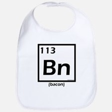 Elemental bacon periodic table Bib