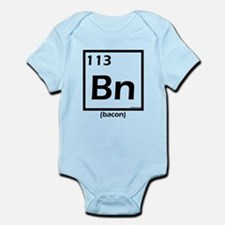 Elemental bacon periodic table Infant Bodysuit