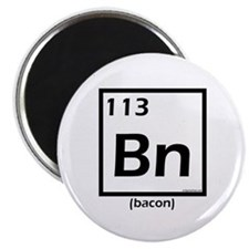 Elemental bacon periodic table Magnet