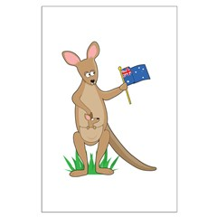 Animal Alphabet Kangaroo Posters