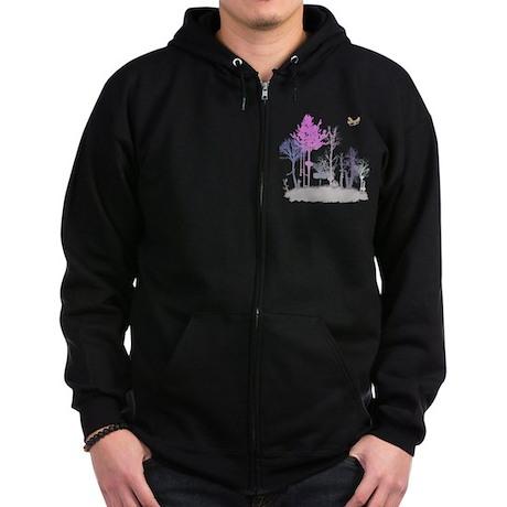 A Natural Band Zip Hoodie (dark)