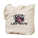 Music Like Wow Tote Bag