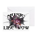 Music Like Wow Greeting Cards (Pk of 20)