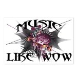 Music Like Wow Postcards (Package of 8)