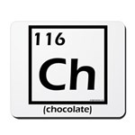 Elemental chocolate periodic table Mousepad