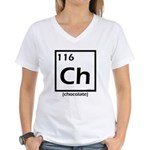 Elemental chocolate periodic table Women's V-Neck