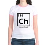 Elemental chocolate periodic table Jr. Ringer T-Sh