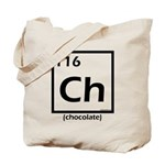 Elemental chocolate periodic table Tote Bag