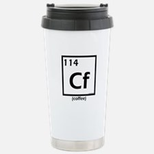 Elemental coffee periodic table Stainless Steel Tr