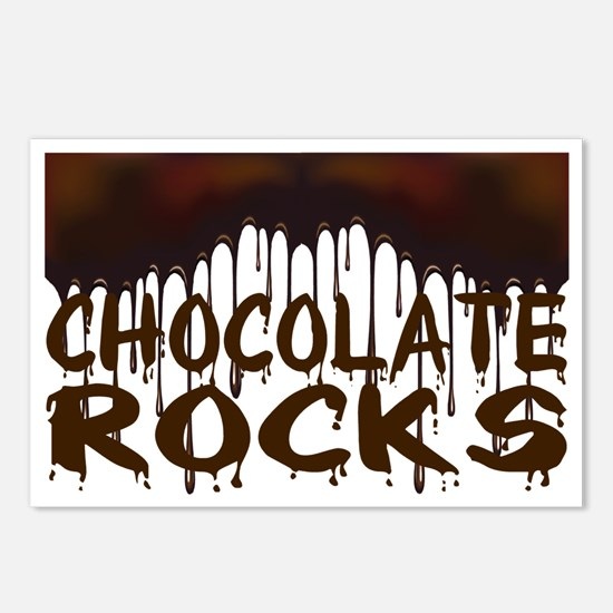 Chocolate Rocks Postcards (Package of 8)