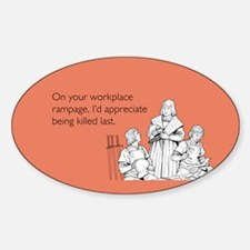 Workplace Rampage Decal