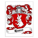 Haase Coat of Arms Small Poster