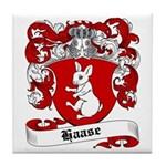 Haase Coat of Arms Tile Coaster