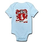 Haase Coat of Arms Infant Creeper