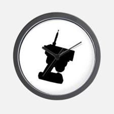 REMOTELY CONTROLLED -  Wall Clock