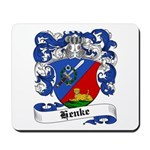 Henke Coat of Arms Mousepad